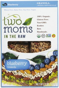 Two Moms in the Raw Blueberry Granola, 8 oz