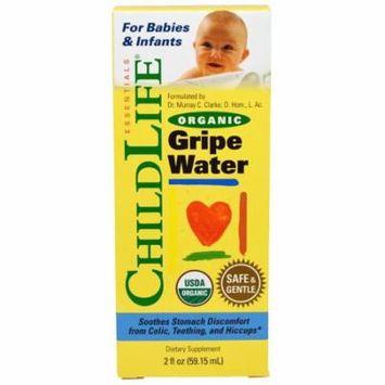 ChildLife, Organic Gripe Water, 2 fl oz(pack of 6)