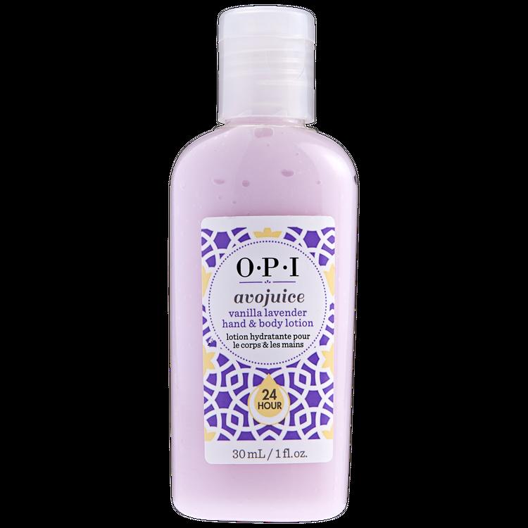 OPI Vanilla Lavender Avojuice