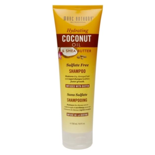 Marc Anthony True Professional Hydrating Coconut Oil & Shea Butter Shampoo, 8.4 fl oz