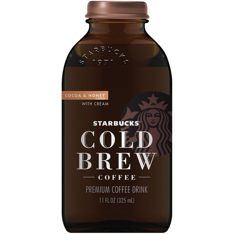 Starbucks® Cold Brew Cocoa & Honey with Cream Coffee Drink Reviews 2020