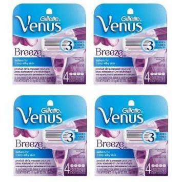 Venus Breeze 4-count Refill Razor Blade Cartridges (Set of 2 or 4) Pack Of 4