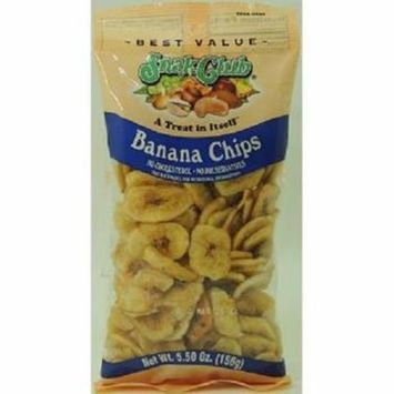 Product Of Snak Club, Premium Banana Chips, Count 6 (5.50 oz) - Nut & Dry Fruit / Grab Varieties & Flavors