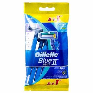 New 362485 Gillette Razor Blue Ii Plus 5+1Pk (12-Pack) Shaving Cheap Wholesale Discount Bulk Health & Beauty Shaving