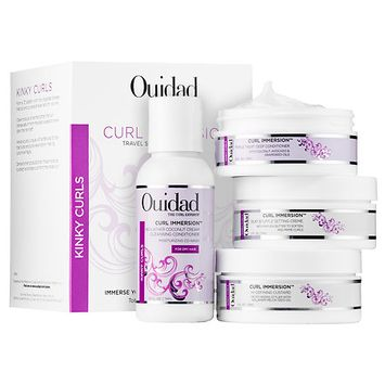 Ouidad Curl Immersion Travel Set For Kinky Curls