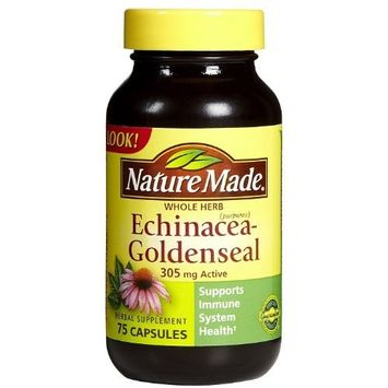 Nature Made Echinacea-Goldenseal 305 mg Caps