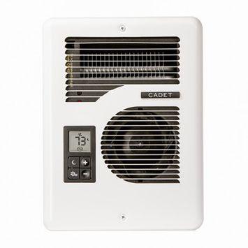 Cadet 1600 Watt Electric Fan Wall Heater