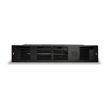 Cadet 750W 240V Perfectoe under-cabinet Electric Heater - Black