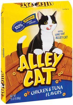 Alley Cat® Chicken & Tuna Dry Cat Food