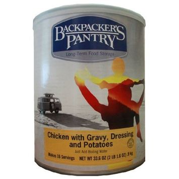 Backpacker's Pantry Chicken, Dressing, Potatoes and Stuffing, 33.6-Ounce