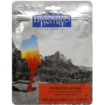Backpacker's Pantry Wild West Chili [2 Serving Pouch]