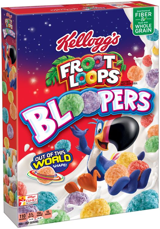 Kellogg's® Froot Loops Bloopers™ Cereal
