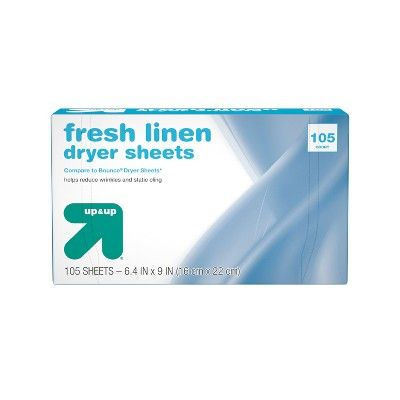Up & Up Fresh Linen Fabric Softener Dryer Sheets - Up&Up?