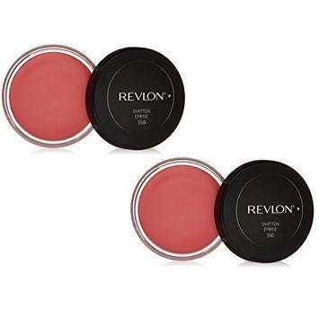 (2 Pack) Revlon Cream Blush, #350 Smitten : Beauty