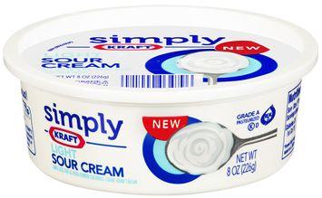 Simply Kraft Light Sour Cream