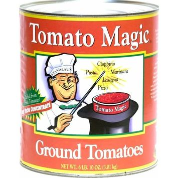 Tomato Magic Ground Tomatoes No. 10 Can 6.6 lb, (Pack of 6)