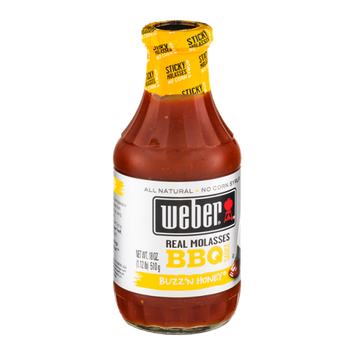 Weber Real molasses BBQ Sauce Buzz'n Honey