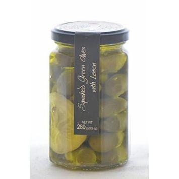 Casina Rossa Green Olives with Lemon and Olive Oil - 9oz