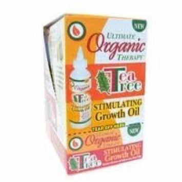 Ultimate Organic Tea Tree Stimulating Growth Oil 4oz