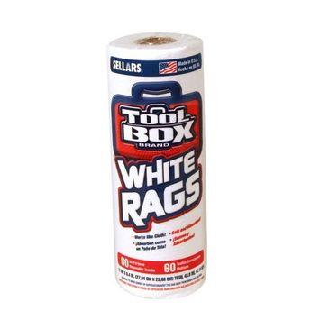 SELLARS WIPERS & SORBENTS 5105601 Painters Towel (60 Count), White