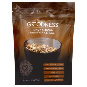 Wholesome Goodness Granola Hony Almond 10 Oz Pack Of 6