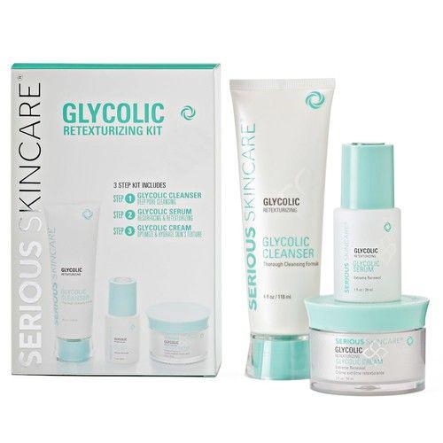 Serious Skincare Glycolic Retexturizing Kit