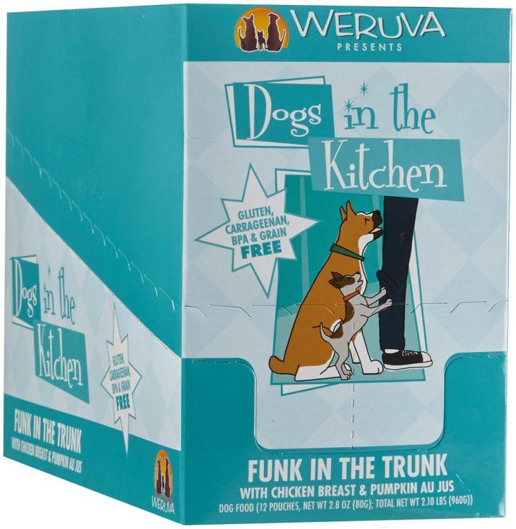Weruva Dogs In The Kitchen Funk in the Trunk - Chicken Breast & Pumpkin Au Jus - 2.8 oz