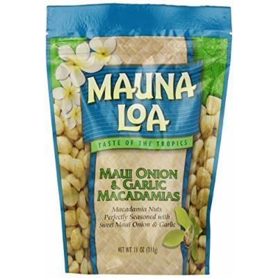 Mauna Loa Maui Onion & Garlic 1 Bag 11oz Each Bag and 1 Bar of Noni Facial soap and 1 Bar of Noni Facial soap