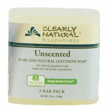 Clearly Natural Bar Soap - Unscented - 4 Oz