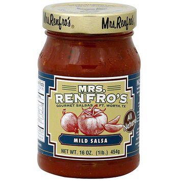 Mrs. Renfro's Mild Salsa, 16 oz (Pack of 6)