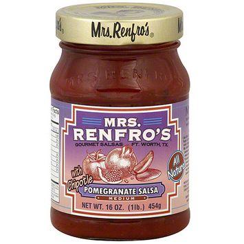 Mrs. Renfro's Pomegranate Chipotle Salsa, 15 oz (Pack of 6)