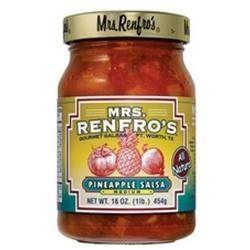 Mrs. Renfro's Mrs Renfro's Pineapple Salsa (6x6/16 Oz)