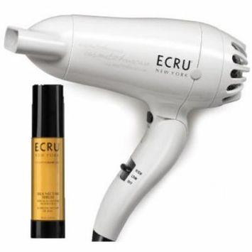 ECRU New York Travel Hair Dryer with Free ECRU Silk Nectar Serum