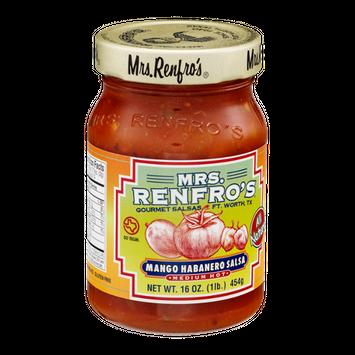 Mrs. Renfro's Mango Habanero Salsa