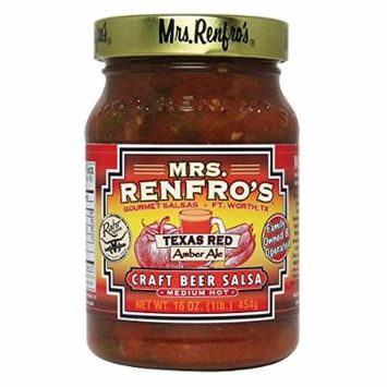 Mrs Renfro Salsa,Texas Red,Crft Bee 16 Oz (Pack Of 6)