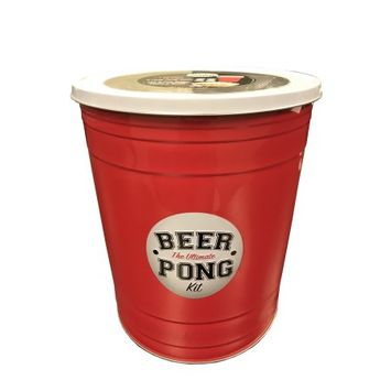 Gourmet Gift Concepts Gourmet Select Beer Pong Kit Tin