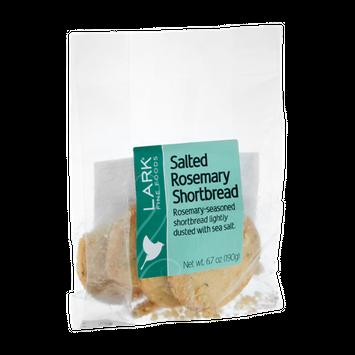 Lark Fine Foods Salted Rosemary Shortbread Cookies