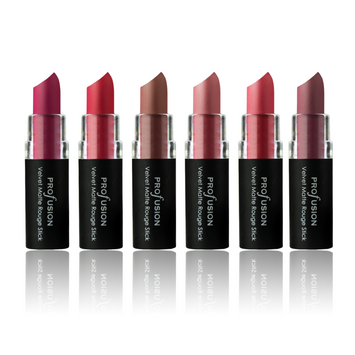 Profusion Cosmetics Kiss Me Up Velvet Matte Lipstick Set