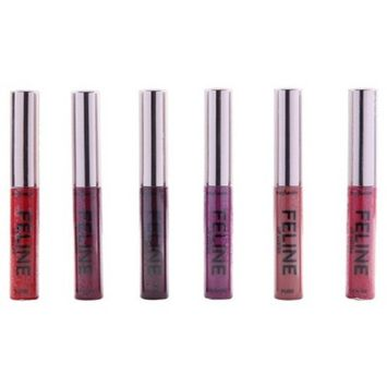 Profusion Cosmetics Feline Liquid Lipsticks Set - 6pc