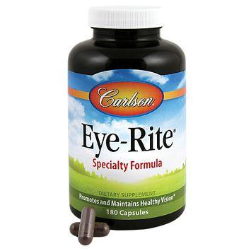 Carlson Laboratories Eye-Rite Eye Formula - 180 Capsules - Other Supplements