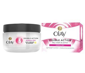 OLAY Double Action Moisturiser Day Cream & Primer