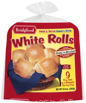 Bridgford® Bakery Style White Rolls 9 ct
