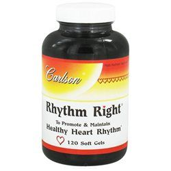 Carlson Laboratories Heart Rhythm Right - 120 Softgels - Other Supplements
