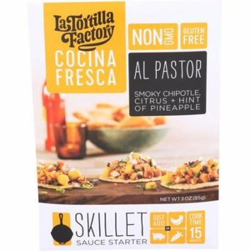 La Tortilla Factory Cocina Fresca Al Pastor Skillet Sauce Starter