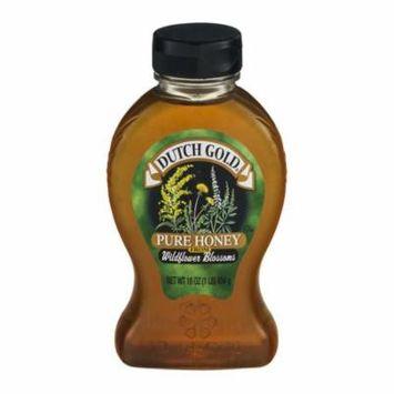 Dutch Gold Honey Wildflower Honey - Case of 6 - 16 oz.