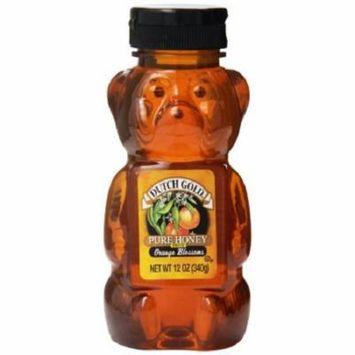 Dutch Gold Honey Orange Blossom Honey - Case of 12 - 12 oz.