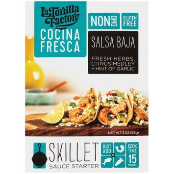 La Tortilla Factory Cocina Fresca Salsa Baja Skillet Sauce Starter