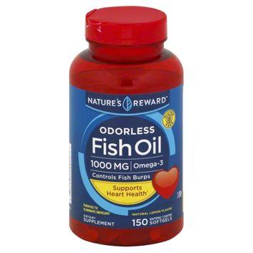 Nature's Reward Fish Oil 1000MG Entric Coat 150 ct