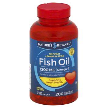 Nature's Reward Fish Oil 1200MG 200 ct