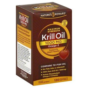 Nature's Reward Krill Oil 1000MG 120 ct